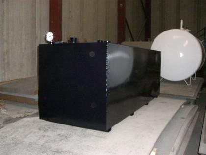 Depósito de gasoleo rectangular 1.200 l.