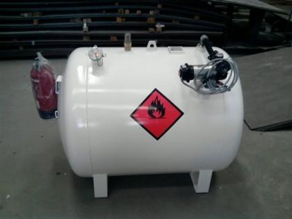 GRG 500 litros con bomba a 12 Voltios