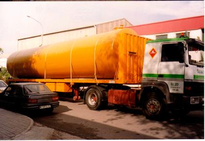 Depósito de gasoil de 50.000 l.