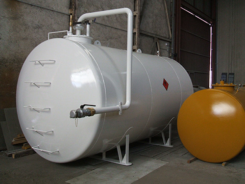 fabricacion de deposito-gasoil-cilindrico