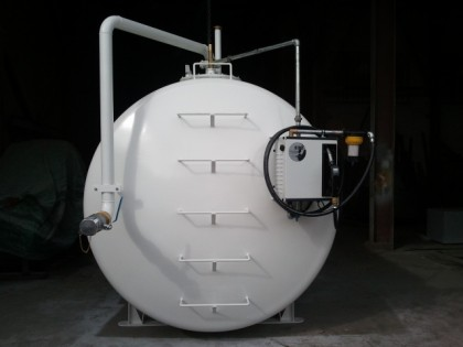 Depósitos Gasoil 10.000 litros aéreo con filtro