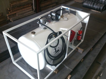 Depósito 900 litros completo