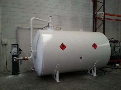 Depósito de gasoil 10.000 l. con instalación