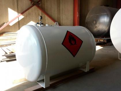 Depósito aéreo de 600 litros