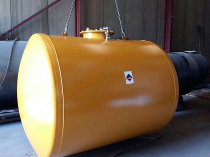 Depósito de gasoil 5.000 litros enterrar