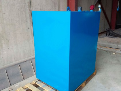 Depósito Gasoil doble pared a medida
